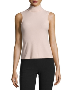 Wendel Sleeveless Knit Top by Theory in Keeping Up With The Kardashians