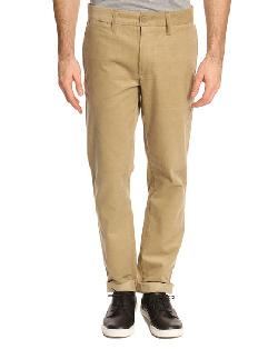Jameson Beige Chino Pants by A.P.C x Carharrt in The Great Gatsby