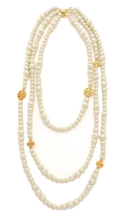 Evie Multi-Strand Necklace by Tory Burch in That Awkward Moment