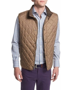Hudson Quilted Vest by Peter Millar in The Great Indoors