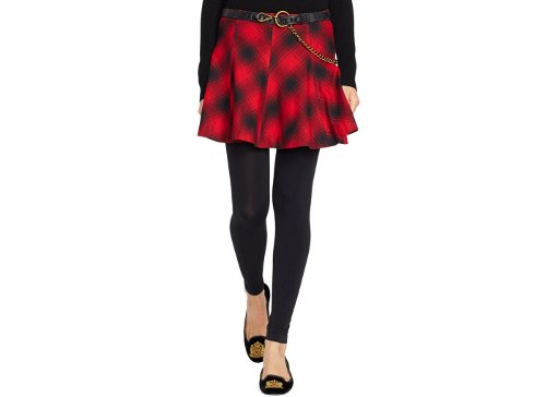 Flannel A-Line Mini Skirt by Polo Ralph Lauren in That Awkward Moment