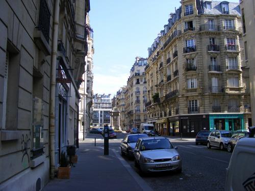 Rue Bouchut Paris, France in Inception