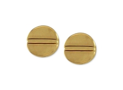 Gold-Tone Basic Stud Earrings by Vince Camuto in Pretty Little Liars