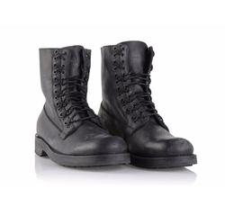Leather Combat Boots by Diesel in The Fate of the Furious