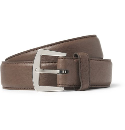 Leather Belt by Loro Piana in Drive