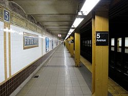 New York City, New York by Fifth Avenue - 59th Street Station in Top Five