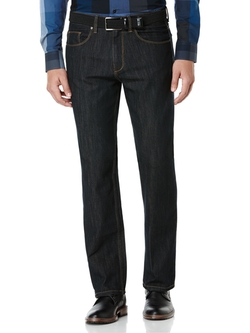 Straight Fit Rust Tint Jean by Perry Ellis International in Pitch Perfect 2