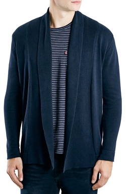 Smart Open Front Cardigan Sweater by Topman in The Flash