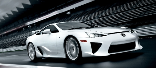 2011 LFA Coupe by Lexus in Fast Five
