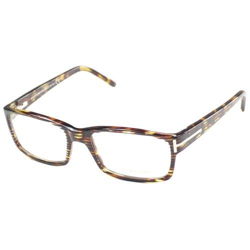 Havana Rectangle Plastic Eyeglasses by Tom Ford in The Gunman
