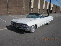 1962 series 62 Convertible by CADILLAC in Jersey Boys