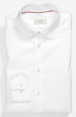 Slim Fit Non-Iron Dress Shirt by Eton in Legend