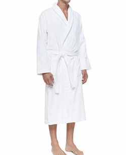 Terry Cloth Robe by Derek Rose in Scream Queens