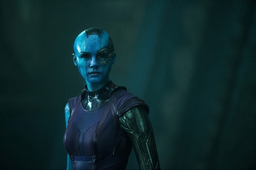 Custom Made Nebula Costume by Alexandra Byrne (Costume Designer) in Guardians of the Galaxy
