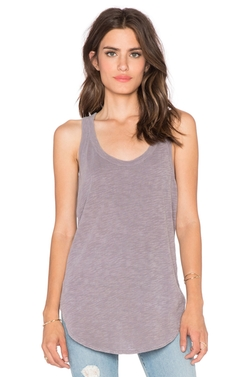 Shrunken Shirtail Tank Top by Wilt in Elementary