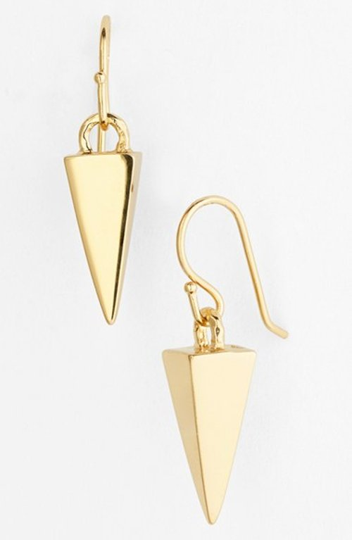 Pyramid Drop Earrings by Melinda Maria in Need for Speed