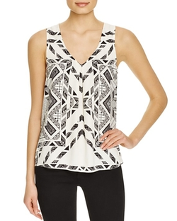 Hopelux Printed Tank by Ella Moss in Fuller House