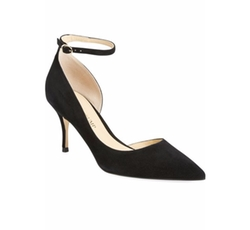 'Brita' Ankle Strap Pointy Toe Pumps by Ivanka Trump in Chelsea