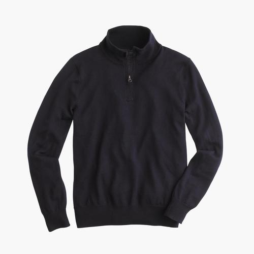 Merino Wool Half-Zip Sweater by J Crew in Me Before You