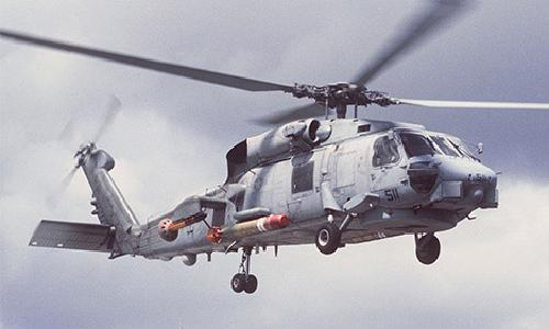 S-70B Seahawk by Sikorsky Helicopter in Godzilla