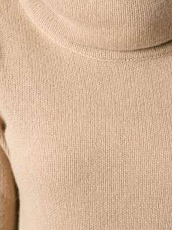 Luxury Neck Poncho Sweater by Ralph Lauren Black in The Gift