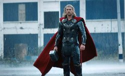 Custom Made Thor Costume by Alexandra Byrne	(Costume Designer) in Avengers: Age of Ultron
