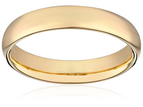 Women's Comfort Fit Plain Wedding Band by Amazon Curated Collection in Sex and the City 2