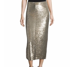 Bump Sequin Midi Skirt by Iro in Marvel's The Defenders