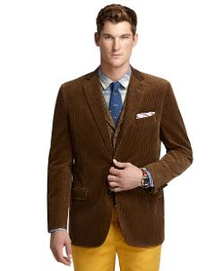 Fitzgerald Fit Corduroy Sport Coat by Brooks Brothers in Jersey Boys