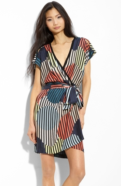'Rilia' Silk Dress by Diane von Furstenberg in Elementary