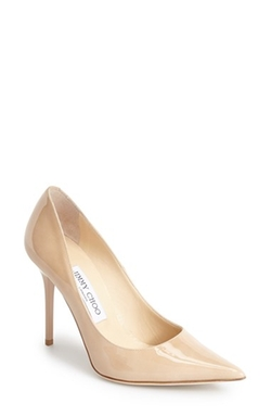 'Abel' Patent Leather Pumps by Jimmy Choo in Suits