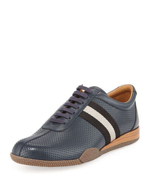 Frenz Perforated Low-Top Sneaker by Bally in Fast Five