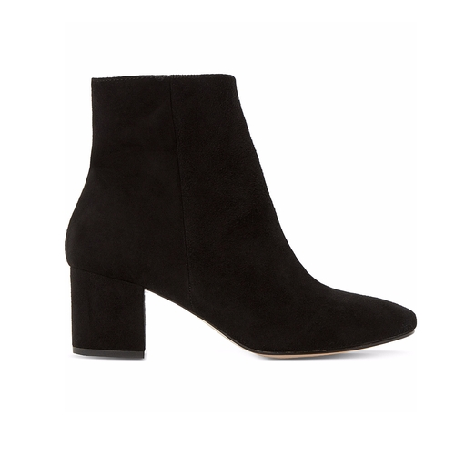 Pebble Suede Ankle Boots by Dune in Guilt - Season 1 Episode 2