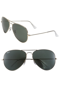 'Large Original Aviator' Sunglasses by Ray-Ban in The Mindy Project