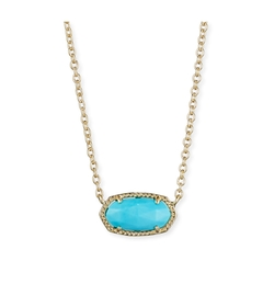 Elisa Magnesite Necklace by Kendra Scott in New Girl