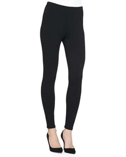 Stretch Fleece Leggings by Eileen Fisher in John Wick