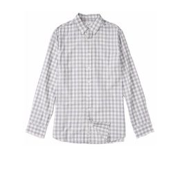 Grange Shadow Gingham Shirt by Grayers in New Girl