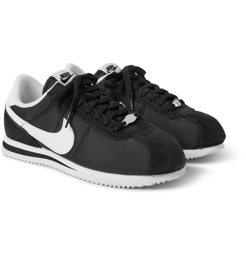 Cortez Panelled Sneakers by Nike in Me and Earl and the Dying Girl