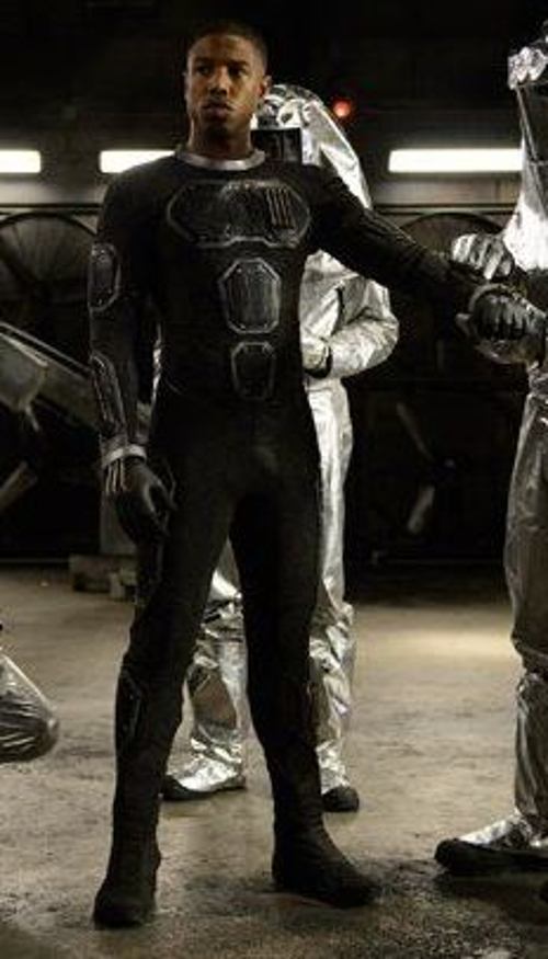 Custom Made 'The Human Torch' Costume (Johnny Storm) by George L. Little (Costume Designer) in Fantastic Four