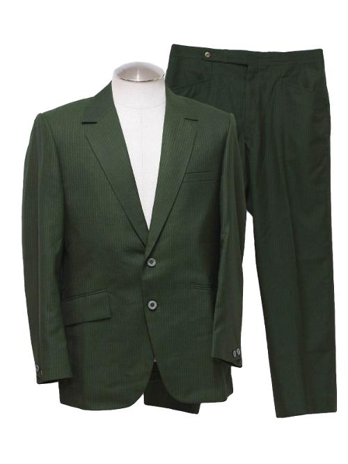 1970's Mens Mod Suit by Pennys Towncraft in Get On Up