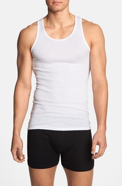 Cotton & Modal Tank Top by Michael Kors in Atonement