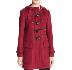 Baysbrooke Wool Duffle Coat by Burberry in Unbreakable Kimmy Schmidt