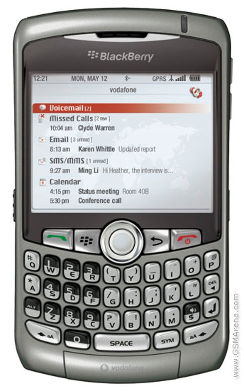 Curve 8310 Phone by Blackberry in Crazy, Stupid, Love.