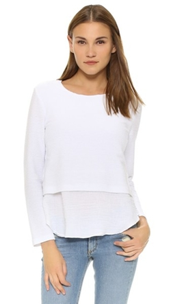 Sammy Layered Long Sleeve Top by Generation Love in Pretty Little Liars