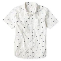 Short-Sleeve Button-Down Shirt by Joe Fresh in Let's Be Cops