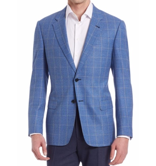 Wide Checked Sportcoat by Armani Collezioni  in Lethal Weapon