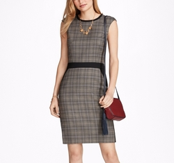 Glen Plaid Sheath Dress by Brooks Brothers in Designated Survivor