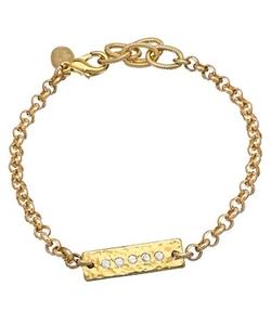 Swarovski Crystal Tag Bracelet by Athena Designs in Straight Outta Compton