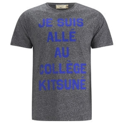 Je Suis Alle Print T-Shirt by Maison Kitsuné in Adult Beginners
