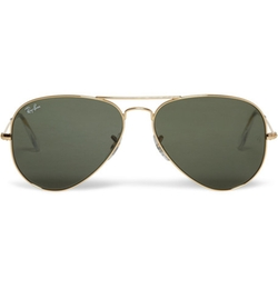 Aviator Metal Sunglasses by Ray-Ban in Sisters